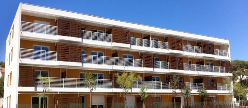 Immeuble contemporain d'appartements neufs Les Deux Victoires à Hyères