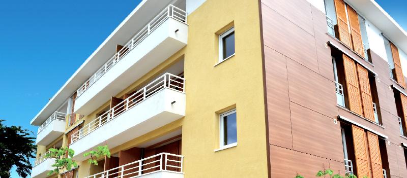 Le Cap Verde - immeuble moderne logements neufs en vente à Six-Fours