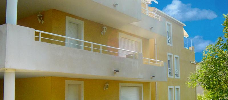Résidence de logements neufs à Cavalaire, Le Clair azur