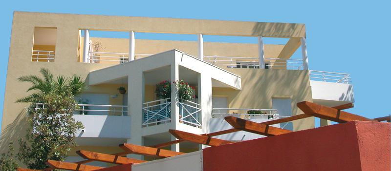 Immeuble d'habitation standing à Cannes, La Croix des Gardes I