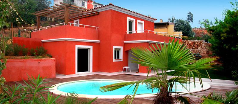 La Croix des Gardes III à Cannes, domaine immobilier résidentiel