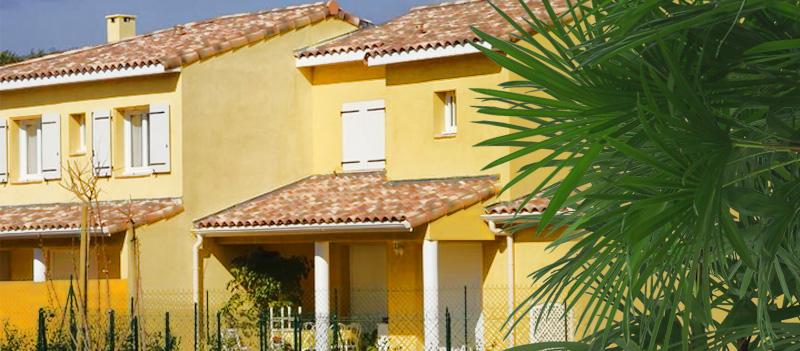 Résidence de logements neufs à Bormes les Mimosas, Les Terrasses