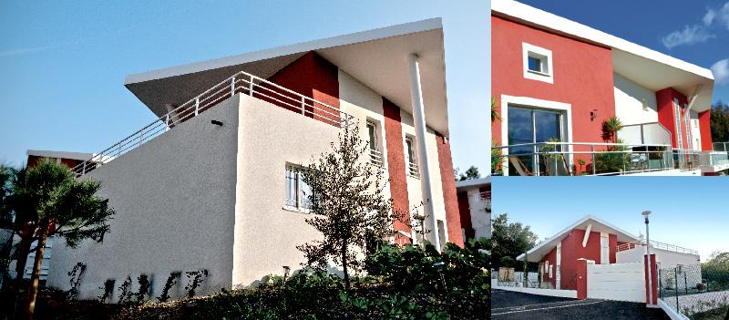 Résidence d'appartements contemporains à Cannes, Les Mascarines