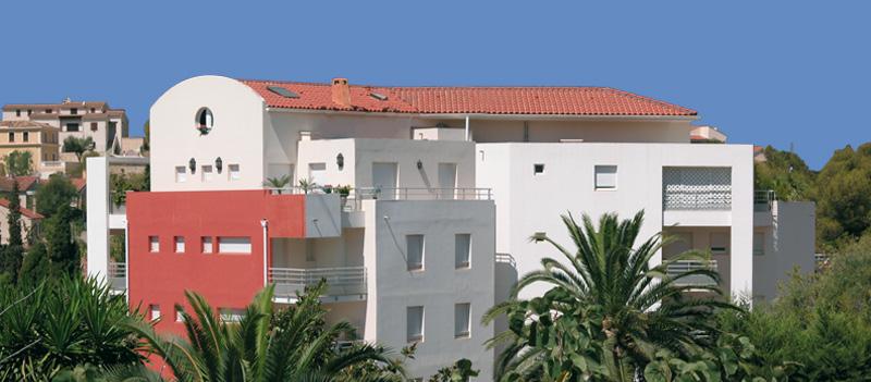 Résidence immobilière neuve Les Terrasses Matignon à Hyères Toulon Var