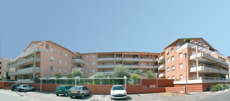 Résidence immobilière d'appartements neufs à Mouans-Sartoux Les Terrasses de Mouans