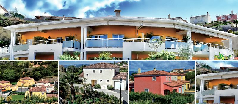 Résidence immobilière neuve Les Terres Blanches Saint Laurent du Var - Achat appartements neufs et villas neuves