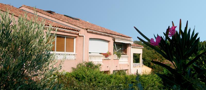 Les Vilas de Vaubelette résidence immobilière neuve vente appartements et villas à Cogolin Var