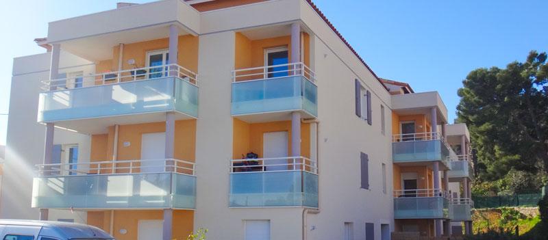 Résidence immobilière Le Jardin de Luc à Toulon - Achat appartements résidentiels ou locatifs Toulon Var