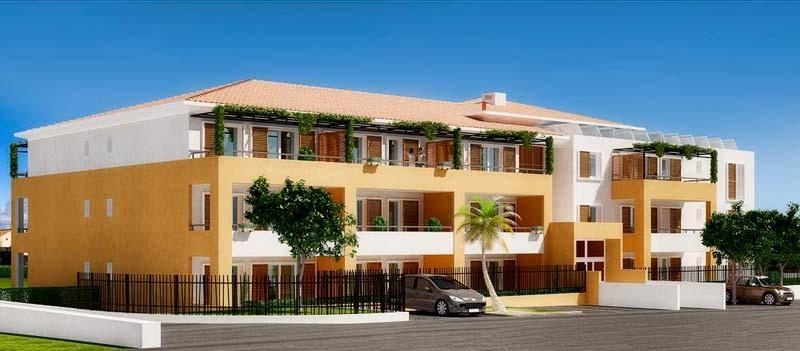 Résidence immobilière Villa Marine à La Valette du Var - Appartements neufs du T1 au T4 Toulon Var