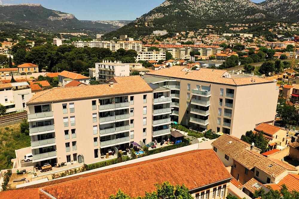 Résidence immobilière neuve à Toulon - Le Titan