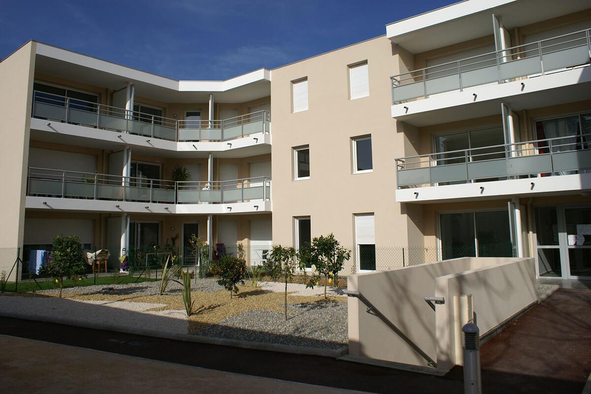 Résidence immobilière neuve à Toulon - Le Casanova