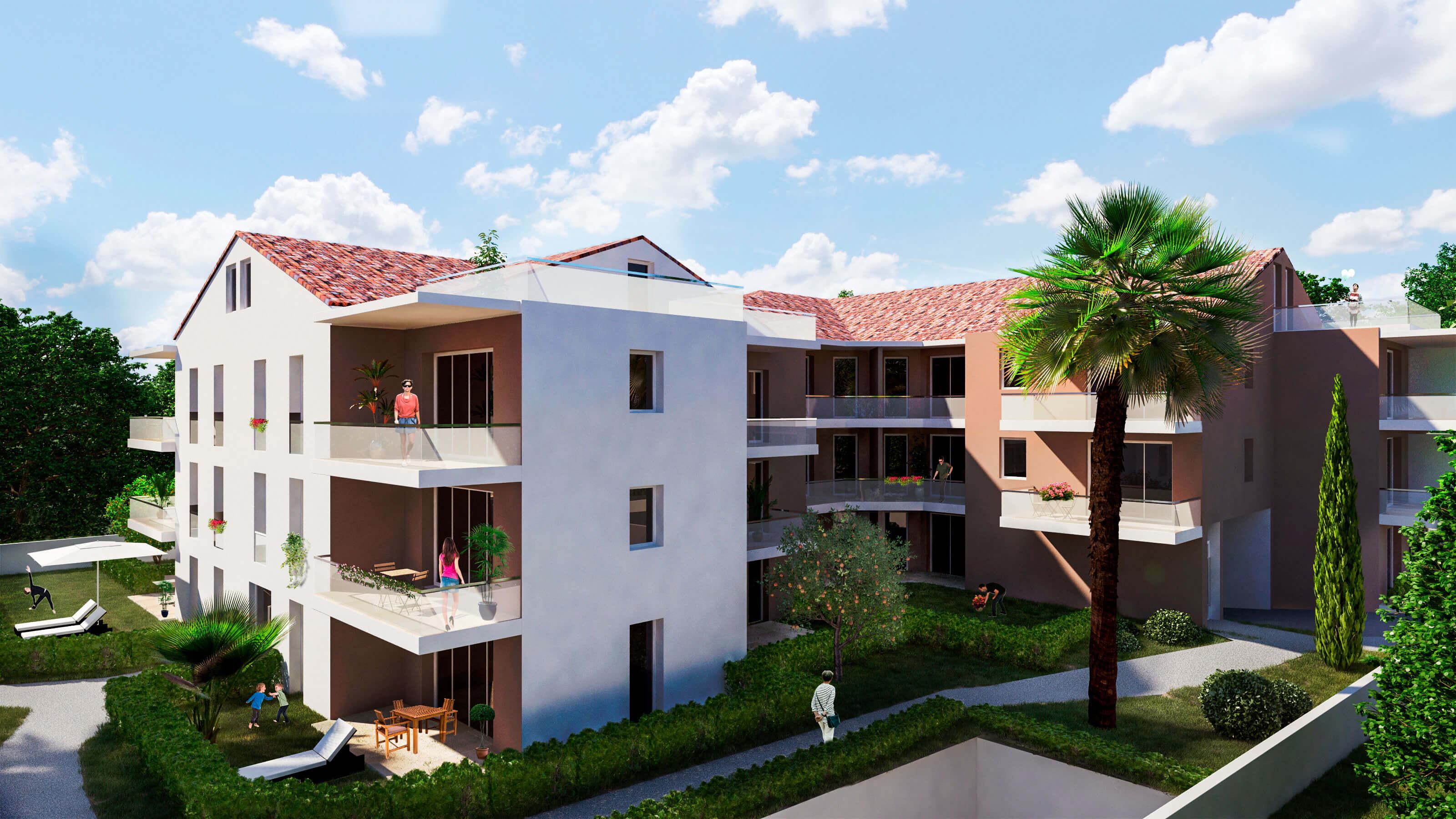 Résidence neuve Les Jardins de Juliette à Toulon