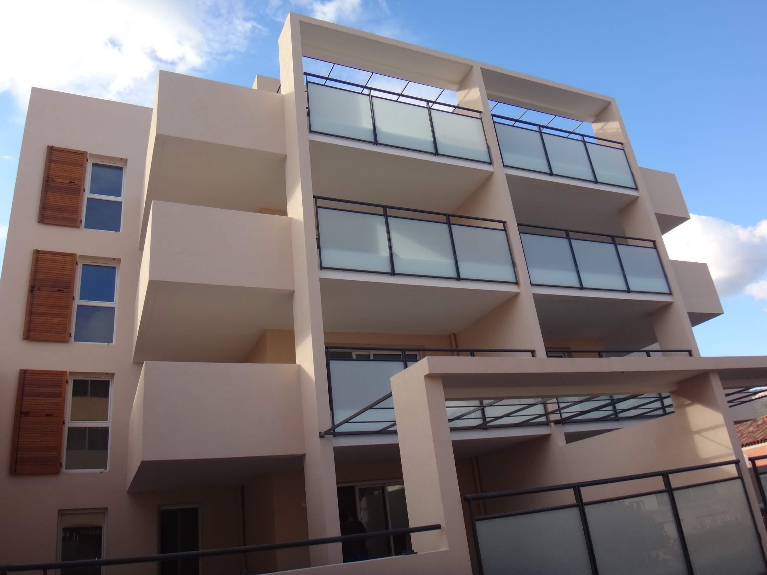 Immeuble d'appartements neufs à Toulon, Le Pagnol