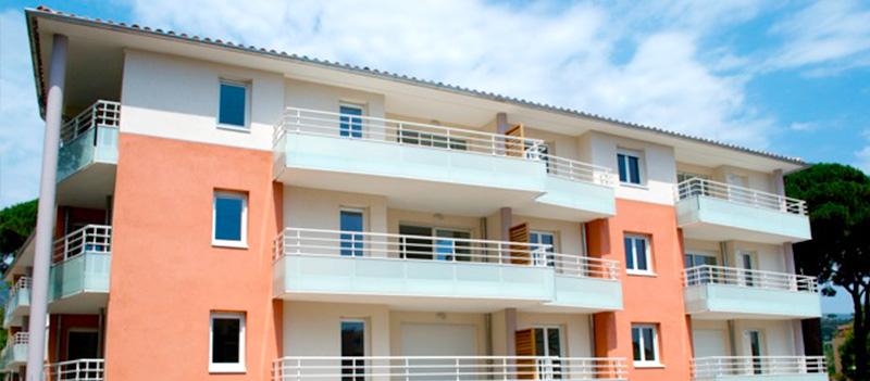 Résidence Bleu Azur à Cavalaire Var - Logements neufs à la vente résidence secondaire