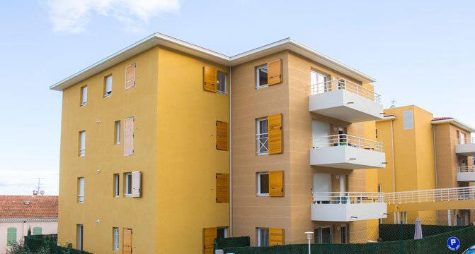 Via Julia, résidence d'appartements neufs à Grasse