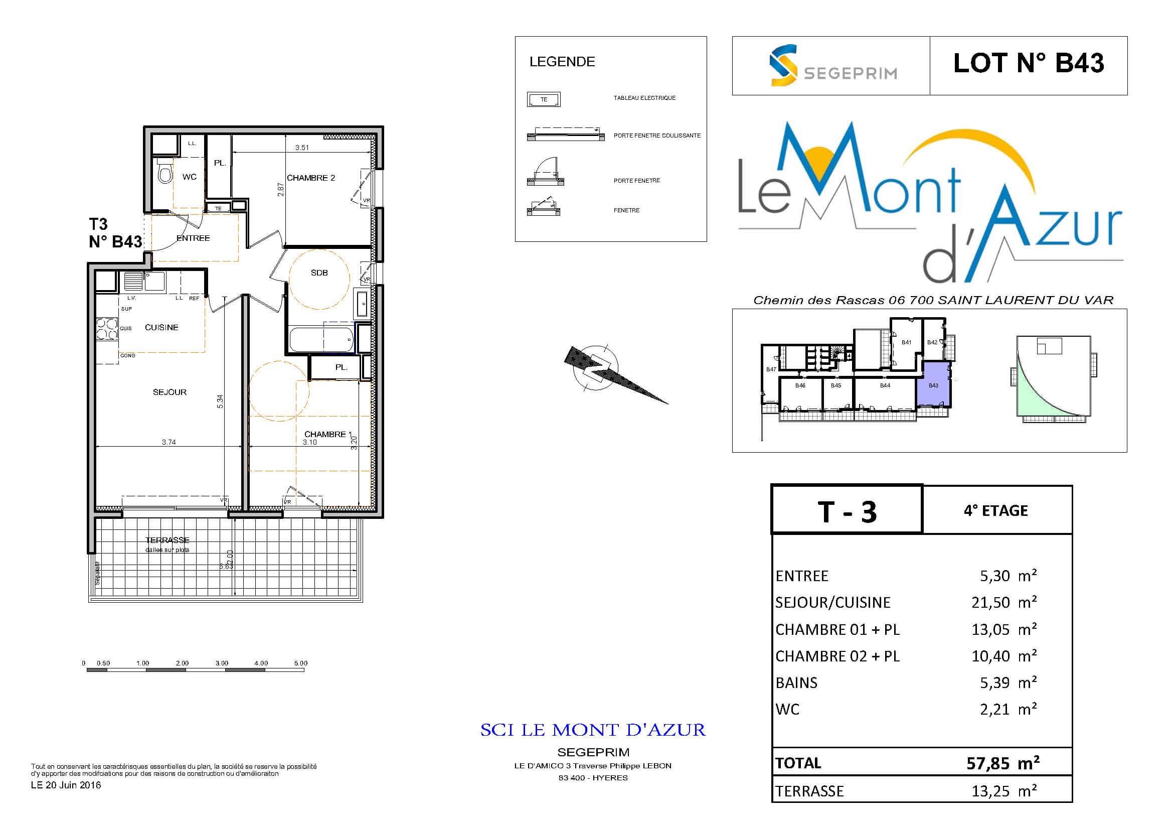 Le Mont d'Azur – B43