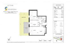 Appartement A108 Résidence Le Titan à Toulon