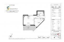 Appartement A402 Résidence Le Titan à Toulon
