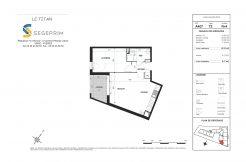 Appartement A407 Résidence Le Titan à Toulon