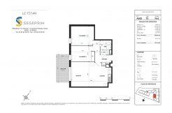 Appartement A508 Résidence Le Titan à Toulon