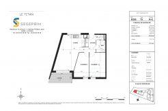 Appartement B205 Résidence Le Titan à Toulon