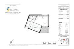 Appartement B301 Résidence Le Titan à Toulon