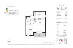 Appartement B302 Résidence Le Titan à Toulon