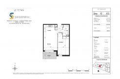Appartement B403 Résidence Le Titan à Toulon