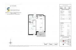 Appartement B404 Résidence Le Titan à Toulon