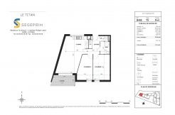 Appartement B405 Résidence Le Titan à Toulon