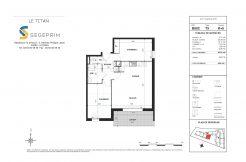 Appartement B502 Résidence Le Titan à Toulon