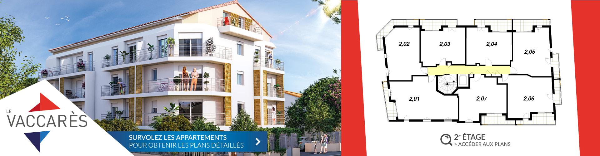 Segeprim - Résidence Le Vaccares 2e étage - Var