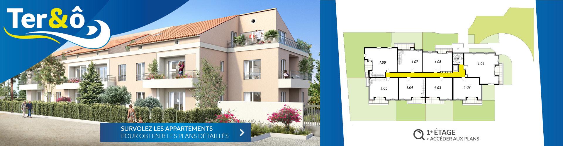 1er étage - Résidence immobilière Ter&O - La Garde - Var - 83