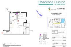 Résidence immobilière Guarda à La Garde 83 - Appartement 402