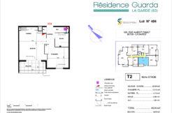 Résidence immobilière Guarda à La Garde 83 - Appartement 404