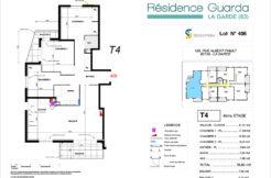 Résidence immobilière Guarda à La Garde 83 - Appartement 406