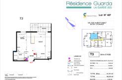 Résidence immobilière Guarda à La Garde 83 - Appartement 407