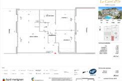 Plan de l'appartement P303
