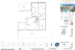 Plan de l'appartement P312
