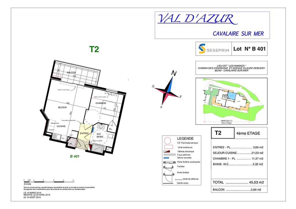 Val d'Azur – B401
